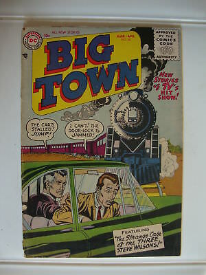 Big Town #38 PR/FA Strange Case Of The Three Steve Wilsons