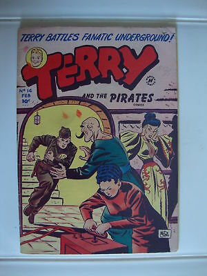 Terry And The Pirates #14 VG Chain Of Deceit