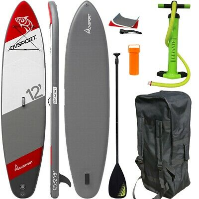 Dvsport Stand Up Paddle Surfboard 366Cm Inflatable Paddel Pumpe Sup Isup Aqua