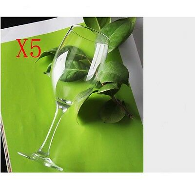 New 5X Capacity 190ML Height 174MM Transparent Cocktail Wine Glass/Glassware %