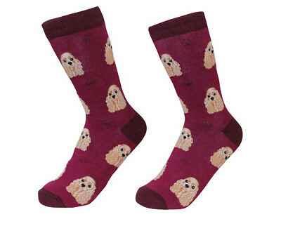 Cocker Spaniel Socks Unisex