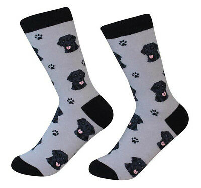 Black Lab Socks Unisex