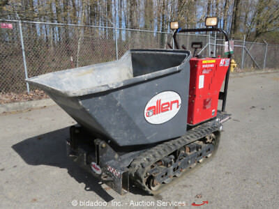 2016 Allen AT-16 Tracked Concrete Ride On Power Buggy Material Cart Kohler 27HP