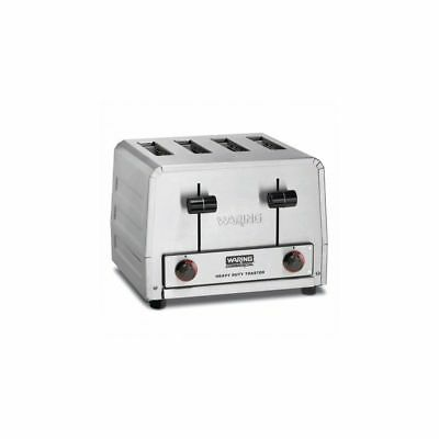 Waring Commercial WCT800 Heavy-Duty 2200W 4-Slot Toaster
