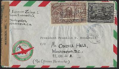 Nicaragua 1944 From The Private Collection Of President Franklin D Roosevelt Reg