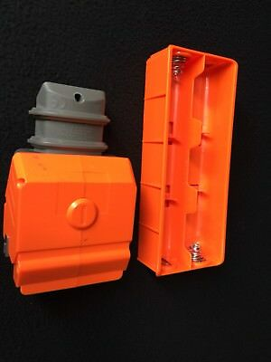 NERF VULCAN EBF-25 Orange Battery Tray & Cover Replacement Parts for Dart Gun