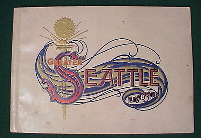 1909 Alaska Yukon Pacific Exposition AYPE Greater Seattle Illustrated Book