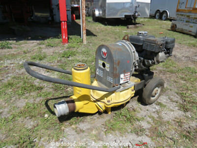 "Wacker Neuson PDT3A Portable 3"" Water Trash Diaphragm Pump Honda bidadoo"