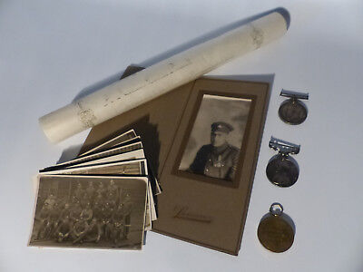 1914 Wwi Canada Medal Grouping Of 3 Inc. Bravery + Photos