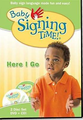 Baby Signing Time Here I Go Dvd Cd 2 Disc Set Video Movie Learn