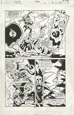 JLA issue 74 page 4 Doug Mahnke semi splash