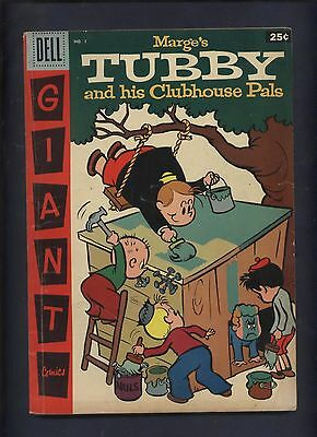 Marges Tubby & His pals #1 Little Lulu & her Friends Dell comic Giant