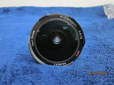 Carl Zeiss F-Distagon HFT 16mm f/2.8 Fish Eye Lens – Parts