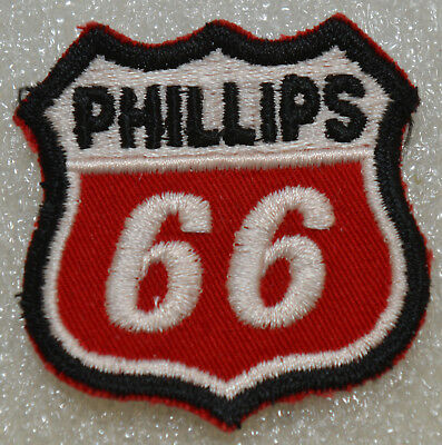 Phillips 66 New Old Stock NOS Vintage 1970's Uniform Patch Shield