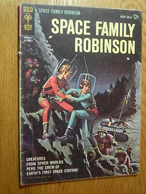 Space Family Robinson #1 G Scarce Earth's first space station