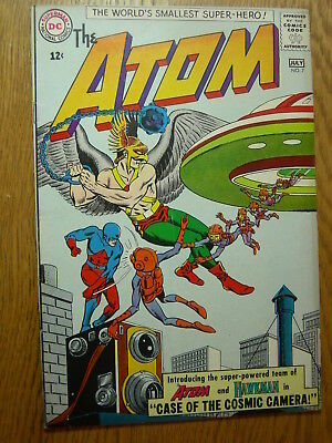 The Atom #7 VG classic Hawkman X-over