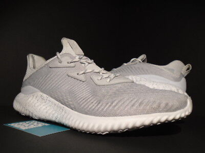 official photos 846d4 30823 Adidas Reigning Champ Alphabounce 1 RC Core White Grey Chalk CG5328 8.5-13  alpha