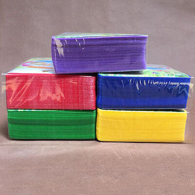 100X Double Side Cover Storage Case Plastic Bag Sleeve Holder CD DVD Disc