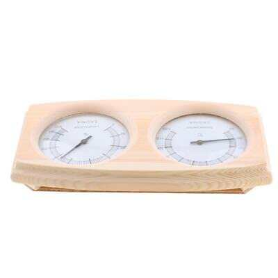Large Decorative Indoor / Outdoor Thermometer and Hygrometer for Sauna House
