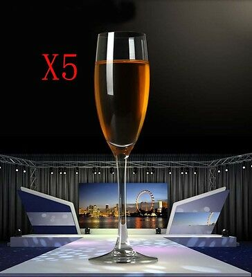 New 5X Capacity 160ML Height 225MM Classical Champagne Wine Glass/Glassware %