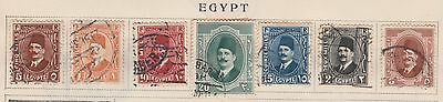EGYPT Collection, Used, On Old Pages,  Removed to Ship #