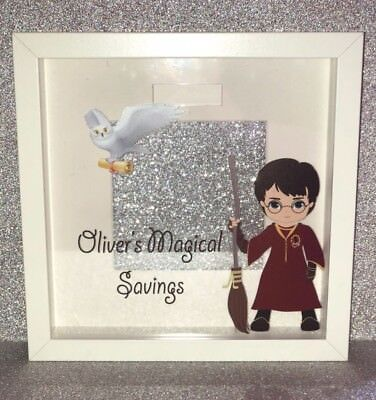 Magical Wizard like Harry Potter Cute Personalised Fund Money Frame Present Gift