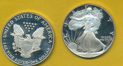 Silver Proof Eagle - 1986 - #a