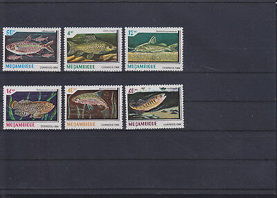 060225 Fische Fish ... Mocambique 991-96 ** MNH Year 1984