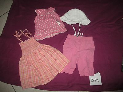 lot vètements  fille T:3M