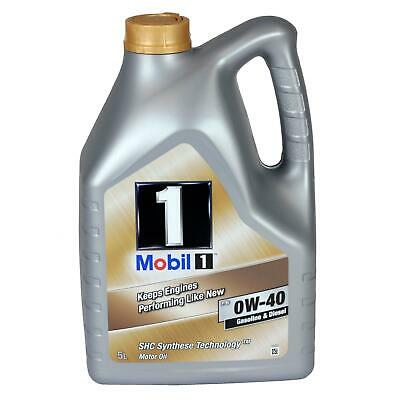 [8,18€/l] 5L Mobil 1 0W40 Motoröl Öl Shc Synthese Technology 153678