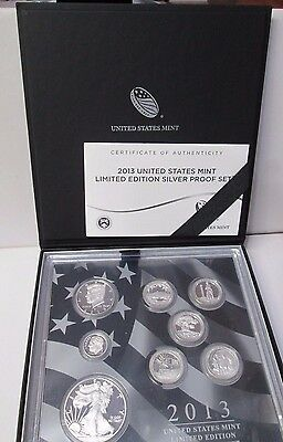 2013 US Limited Edition Silver Proof Set