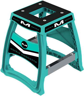 Matrix Concepts M64 Elite Lightweight Motorcycle ATV ATC Stand Aqua M64-113