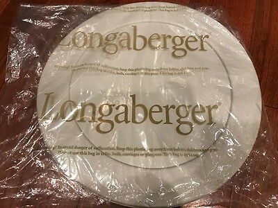 """Longaberger 40454 Protective Lid for 13"""" Round Keeping Divided Protector, New"""