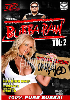 autographed STORMY DANIELS BUBBA RAW DVD w/ PIC PROOF!
