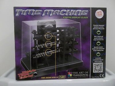 Time Machine Kinetic Rolling Ball Clock Can You Imagine Art Of Timekeeping New