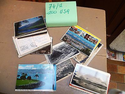 Lot De Carte Postale Amerique       74/1