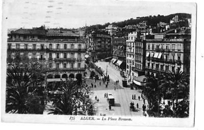 Alger  La Place  Bresson  Animee    Cp390