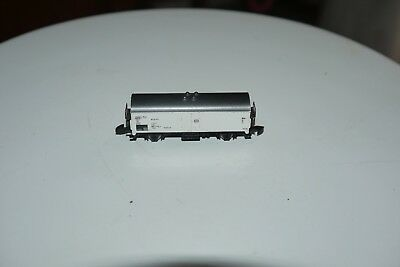 MARKLIN mini club # 8600 Z Scale Model Train Refrigerated Freight Car IN THE BOX