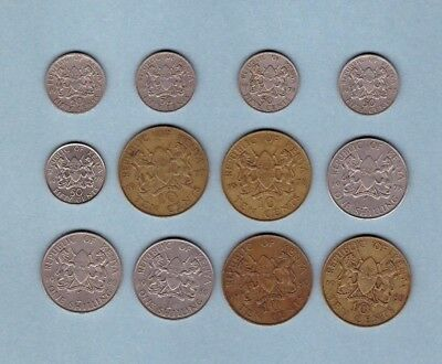 Kenya - Coin Collection Lot # A - World/Foreign/Africa