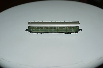 MARKLIN mini club # 8730 Z Scale Model Train 3rd Class Passenger Car Coach BOXED