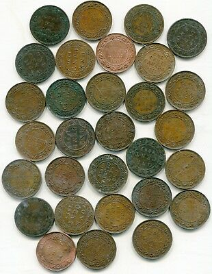 Canada big lot of large cents (30) coins lotmar2817