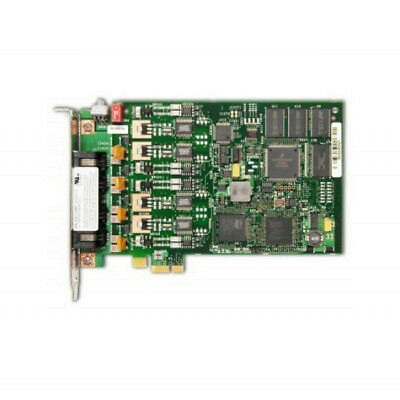 Dialogic D4PCIU4SEW 4 Port PCI-E Analog Loop-Start Card  - VGC