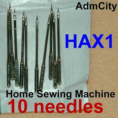 10 Home Sewing Machine Needles Hax1 15x 130/705h SY2020 for Singers Domestic Lot
