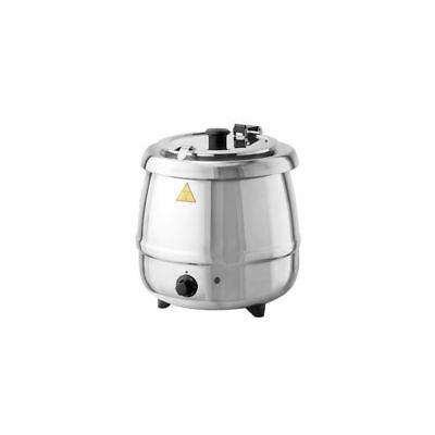 Tomlinson 1021806 Glenray 10.5 Qt. Stainless Soup Kettle