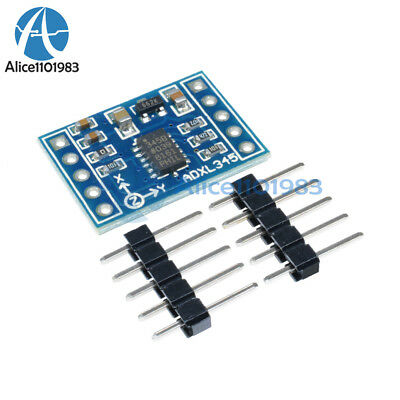 5PCS ADXL345 3-Axis Digital Acceleration of Gravity Tilt Module For Arduino