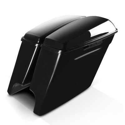 Stretched saddlebags for Harley Road Glide Special 15-19 unpainted