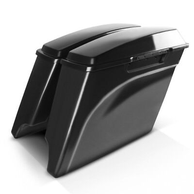 Stretched saddlebags for Harley Davidson Touring Models 94-13 unpainted