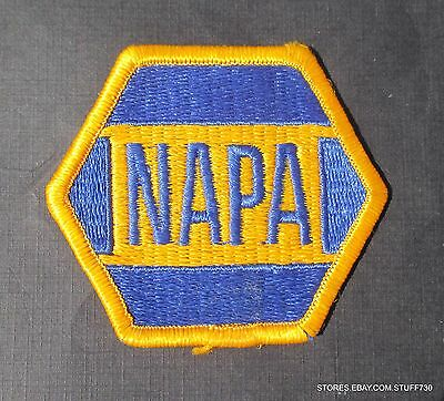 """NAPA EMBROIDERED SEW ON PATCH AUTO CAR PARTS STORE UNIFORM 3"""" x 2 1/2"""""""