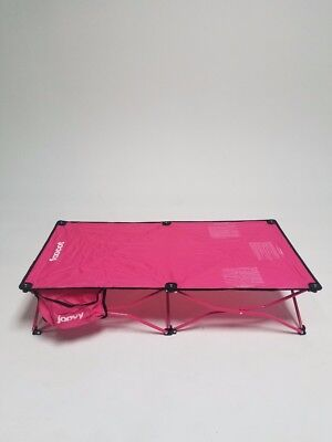 Joovy Toddler Foocot Kids Cot in Pink; Box Opened
