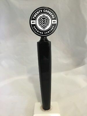 TWENTY CORNERS BREWING CO. 10 3/4 Inch Beer Tap Handle
